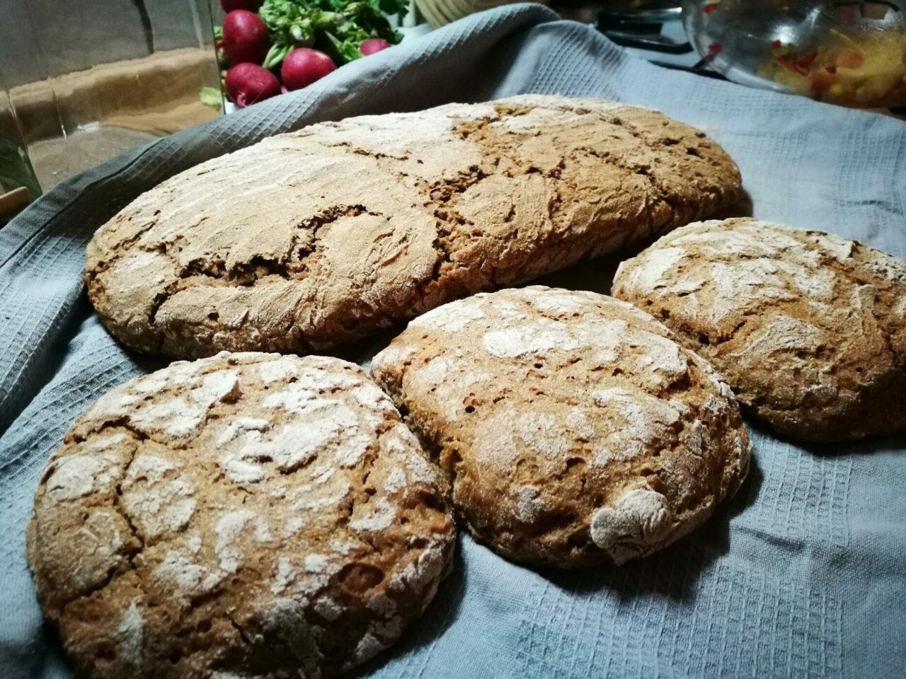 Brot #04 Roggen mit Brühstück und Weizen